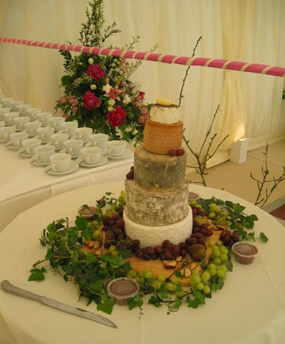 The Chief Bridesmaid Cheese Wedding Cake