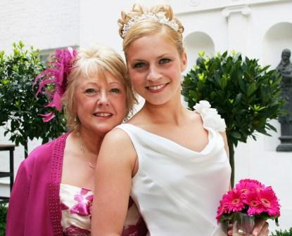 Mother of the Bride information from The Chief Bridesmaid
